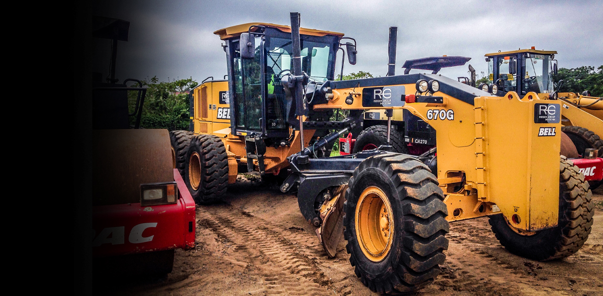 Rieger Plant Hire Equipment, Industry leaders Since 1972.